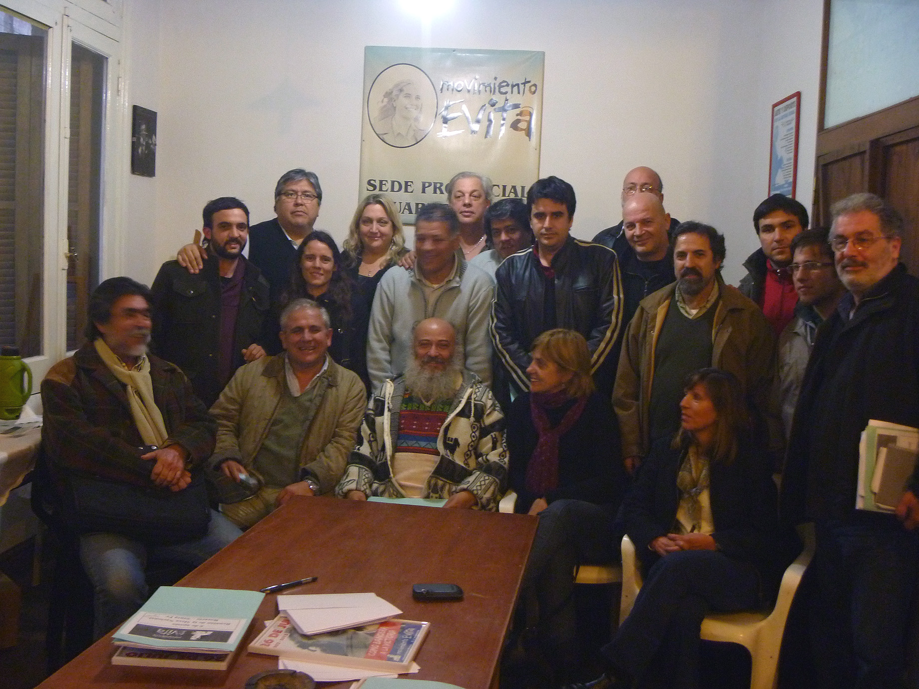 Mov. Evita en Rosario