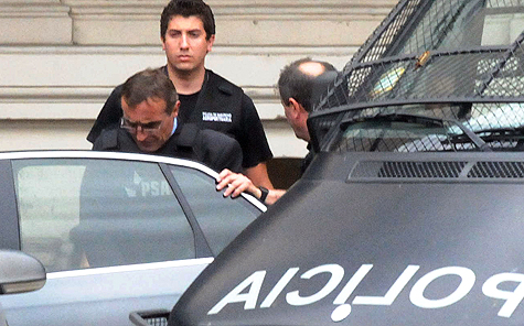 Hugo Tognoli detenido