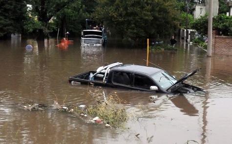Inundaciones en Rosario
