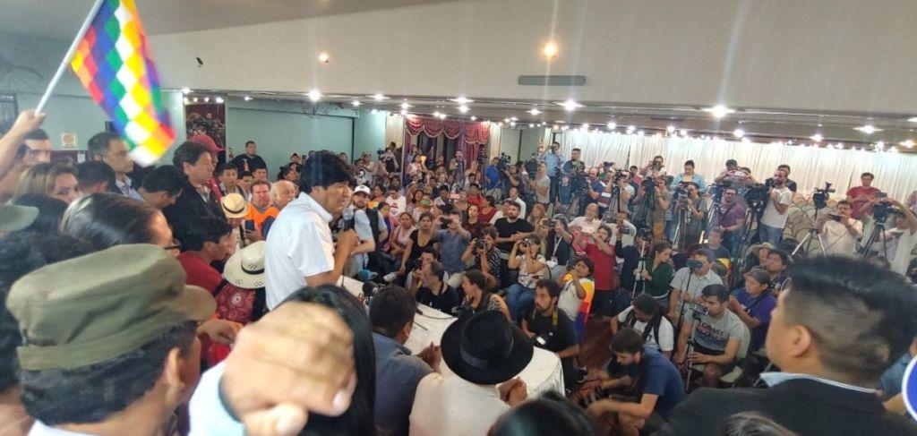 Prensa Evo Morales