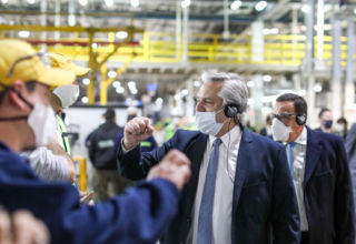 Alberto fernández Toyota automotriz empresas