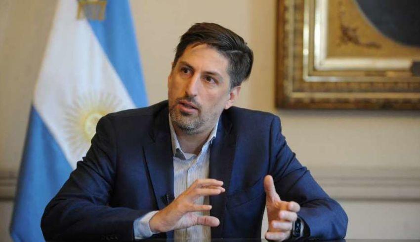 El ministro de Educación de la Nación Nicolás Trotta.