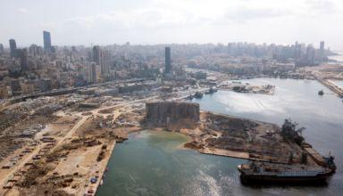 Puerto Beirut - Explosión