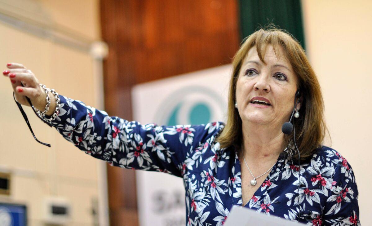 Patricia Mounier, diputada nacional.