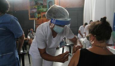 Vacunación docente