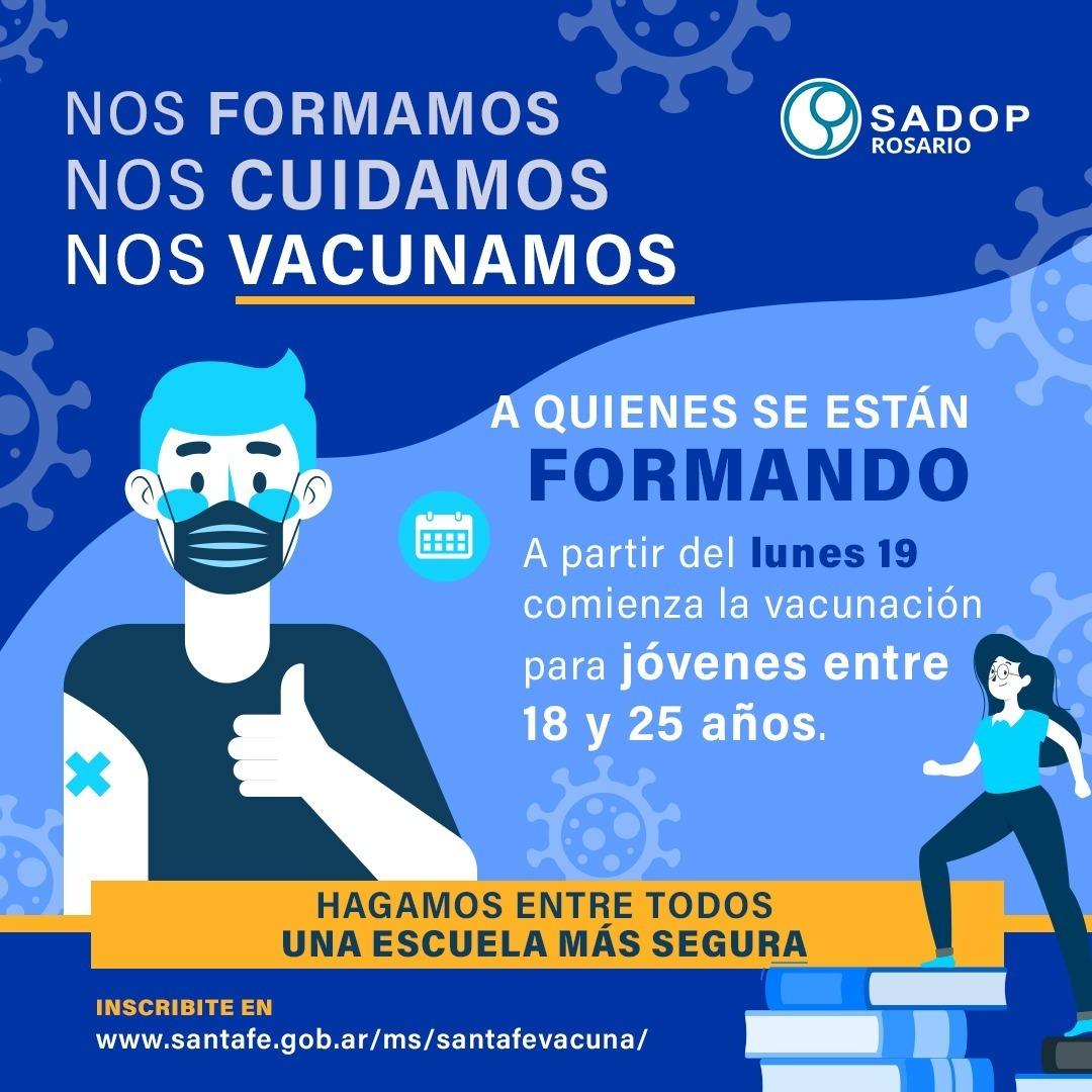Vacunación, Sadop Rosario