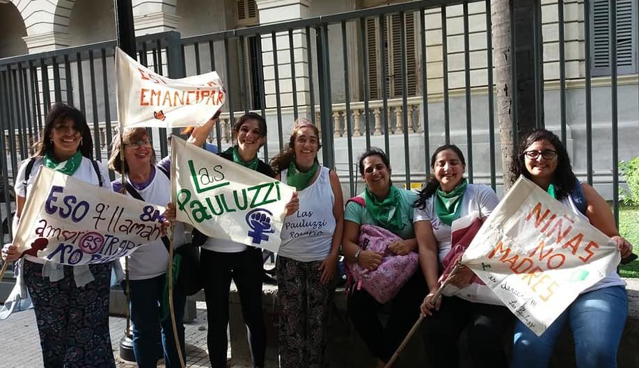 Integrantes de Las Pauluzzi
