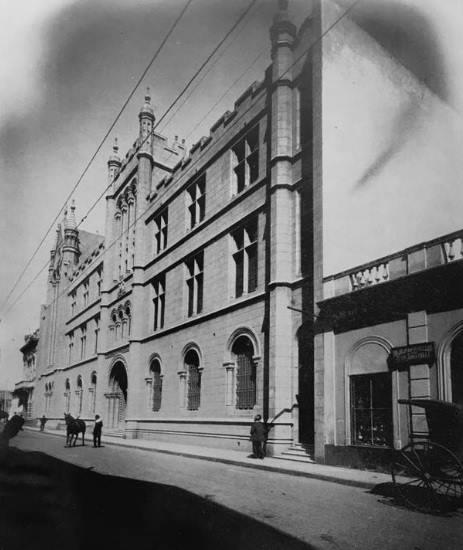 Frente de Humanidades en 1905