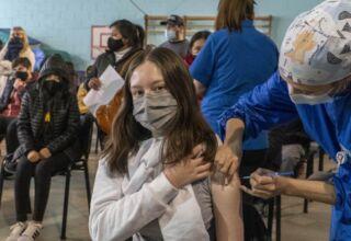 vacunación a niñas y niños